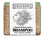 GOLCONDA Haarseife Rosmarin & Brennnessel | gegen Haarausfall und Schuppen | zertifizierte...
